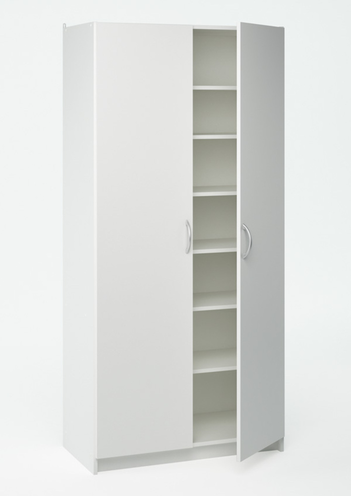 armoire 2 portes multifonction blanc. Black Bedroom Furniture Sets. Home Design Ideas