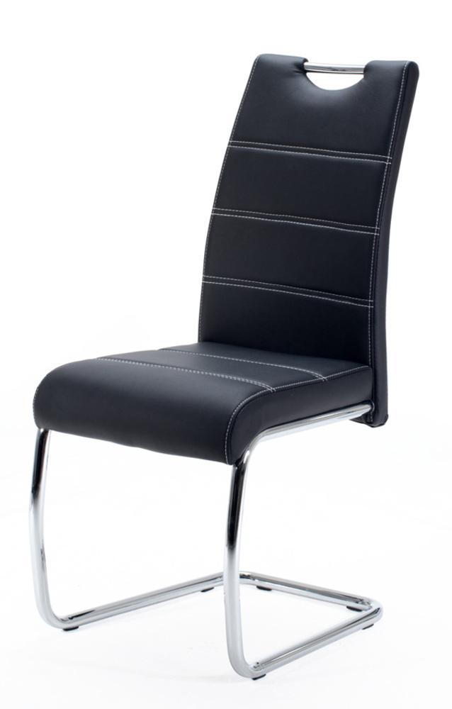 Chaise flora noir - Chaise salle a manger noir ...