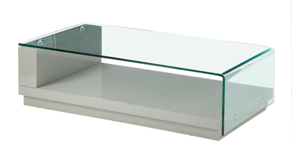 Table Basse Kelly Taupe Brillant