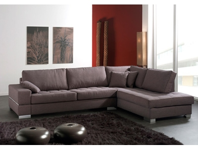 Canapé d'angle à droite Santa barbara