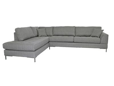 Canapé d'angle à gauche Como