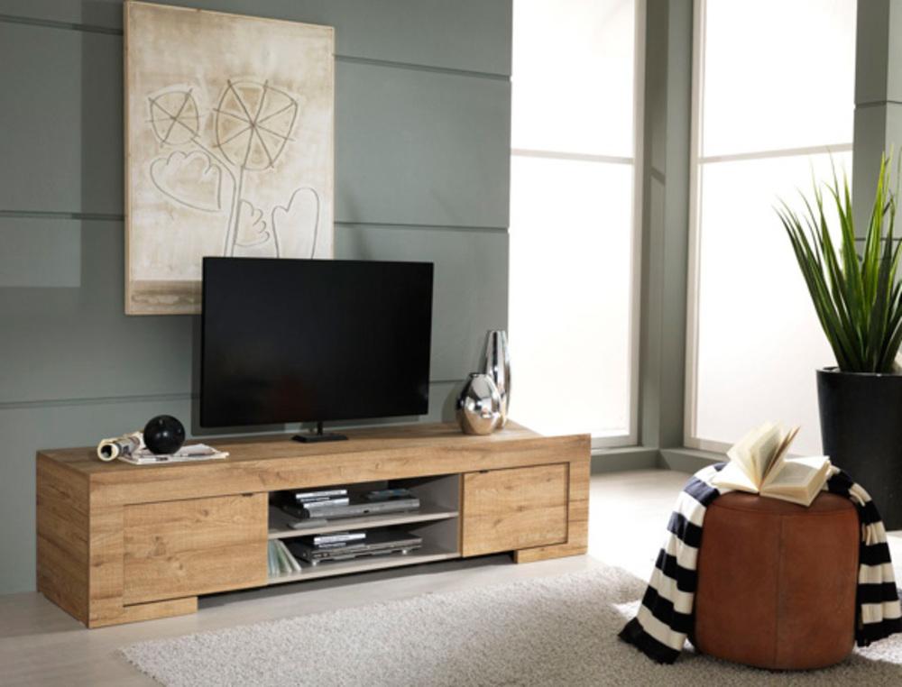 meuble tv lucca miel. Black Bedroom Furniture Sets. Home Design Ideas