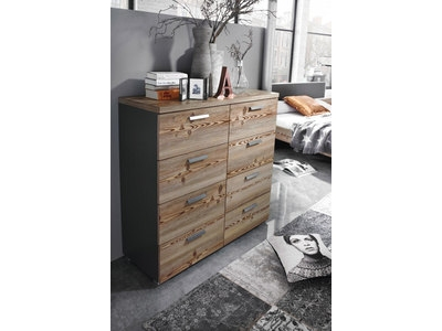 Commode bellevue chene chene noir for Maxi meuble montreal