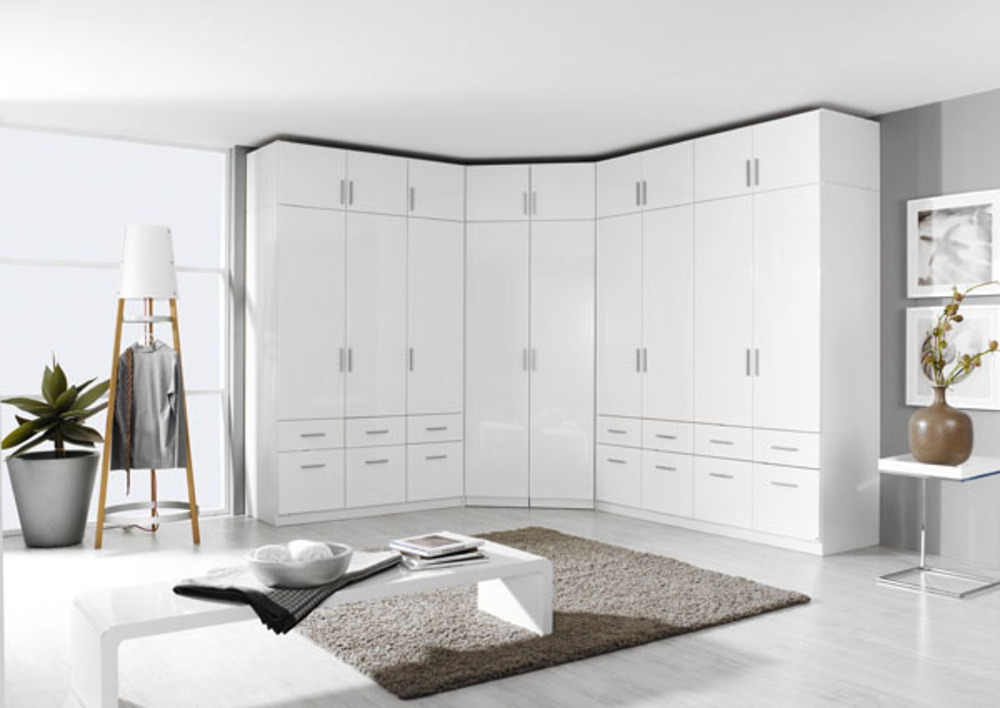 surmeuble d 39 armoire 4 portes celle blanc blanc brillant. Black Bedroom Furniture Sets. Home Design Ideas
