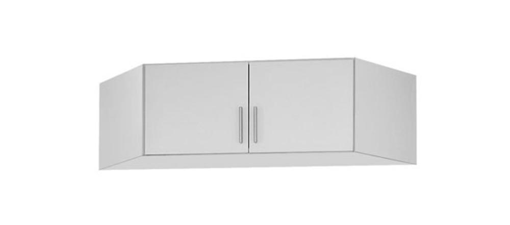 Surmeuble d 39 armoire d 39 angle celle blanc blanc brillant for Surmeuble armoire chambre