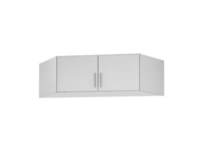 Surmeuble d'armoire d'angle Celle blanc/blanc brillant