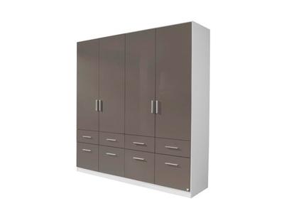 Armoire 4  portes 8 tiroirs