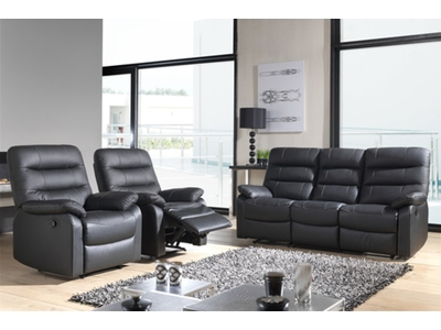 Canape relax electrique d'angle 6 places Cameo