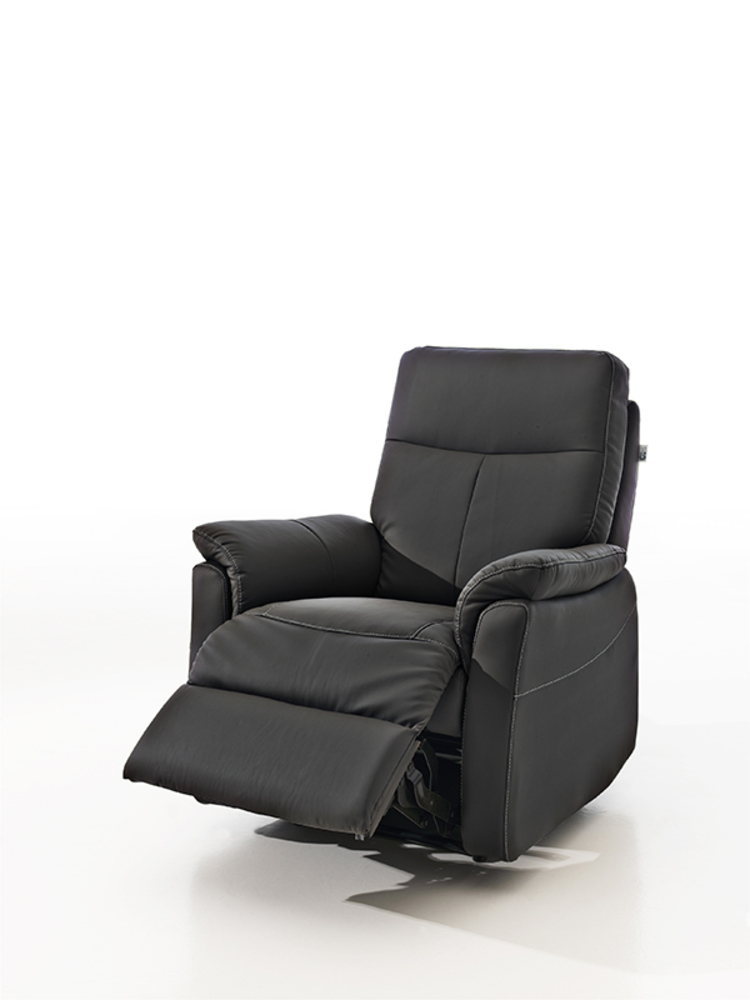 fauteuil relax manuel lucas noir 3500. Black Bedroom Furniture Sets. Home Design Ideas