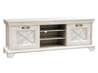meuble tv gm inakashmir lasur blanc. Black Bedroom Furniture Sets. Home Design Ideas