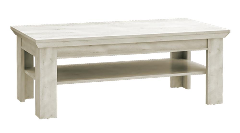 Table Basse Kashmir Lasur Blanc