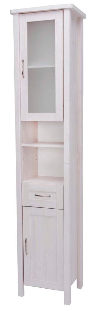 colonne 2 portes 1 tiroir garda blanc. Black Bedroom Furniture Sets. Home Design Ideas