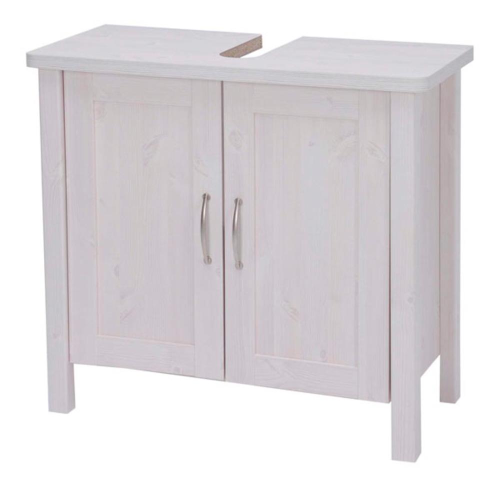 Meuble sous lavabo garda blanc for Etagere sous lavabo salle bain