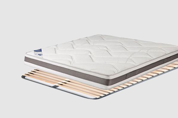 matelas sommier confort 1 pack alveo magnifique. Black Bedroom Furniture Sets. Home Design Ideas