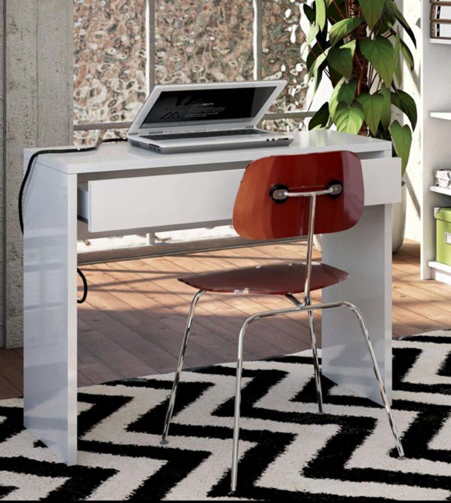 Meuble Tv 100 X 40 : Bureaux-meubles-infos-unico-in-blanc-brillant-l-100-x-h-80-x-p-40jpg