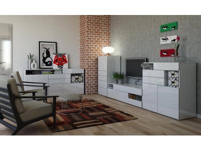 Bahut 3 portes 3 tiroirs Galleria