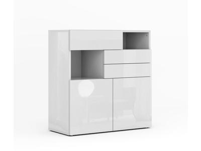Bahut 2 portes 3 tiroirs Galleria