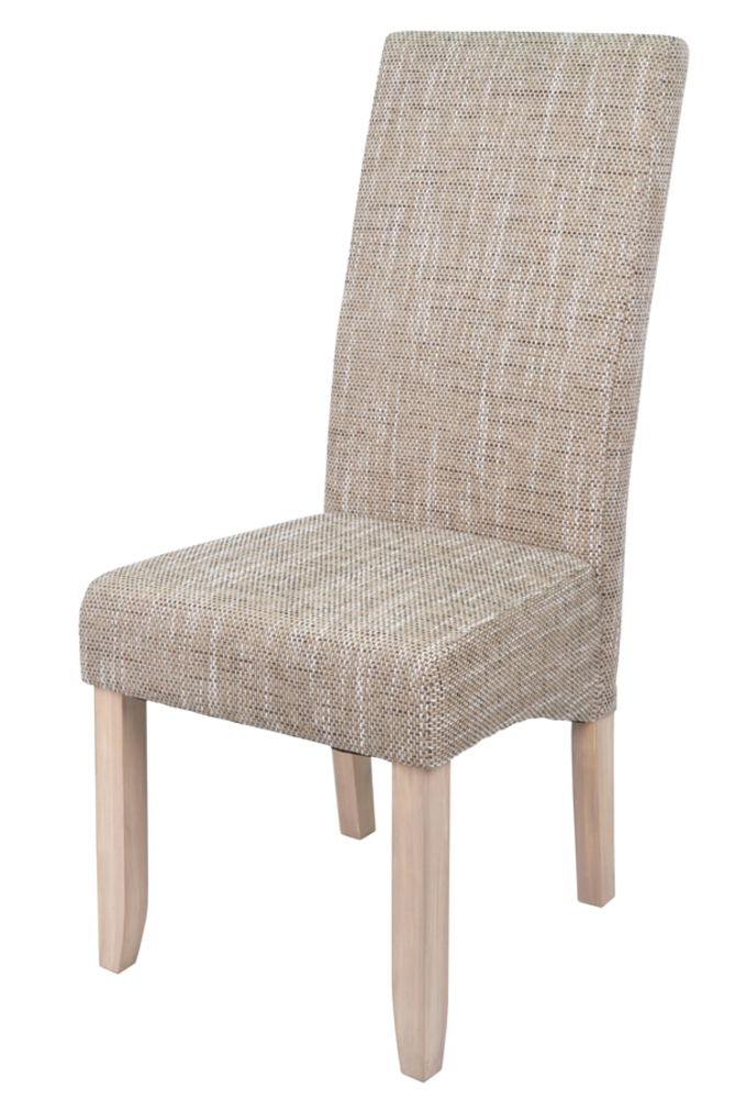 Chaise s jour sagua naturel beige for Chaise salle a manger ecru