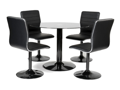 Table + 4 chaises Alister