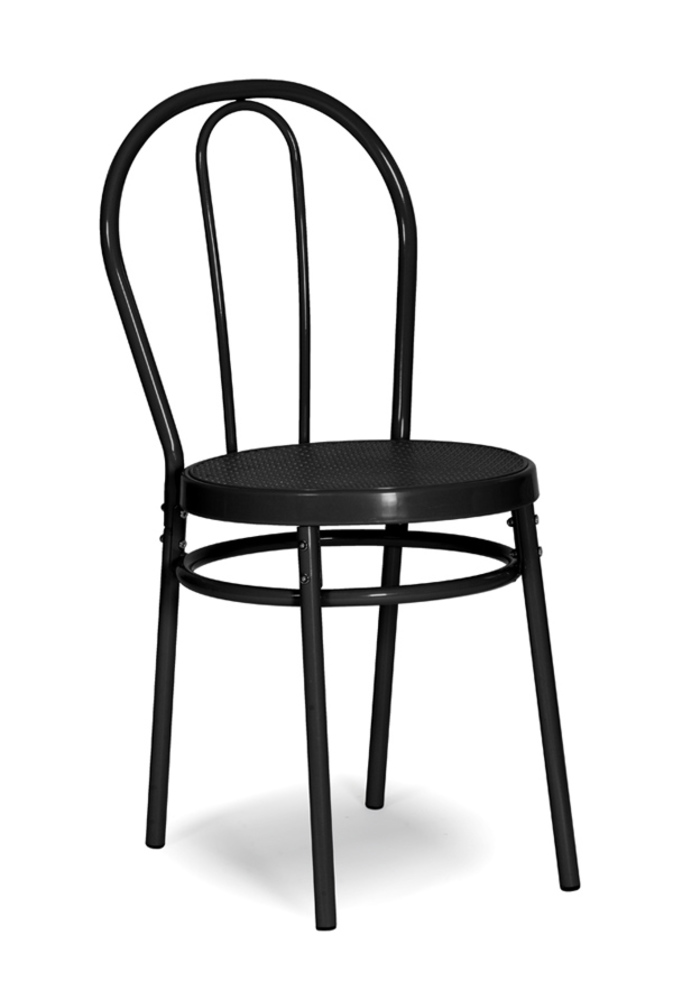 Chaise bistrot noir for Chaise bistrot