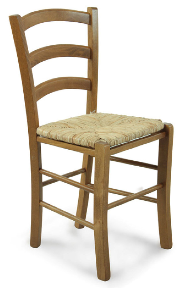 Chaise paysanne naturel for Chaise paysanne blanche