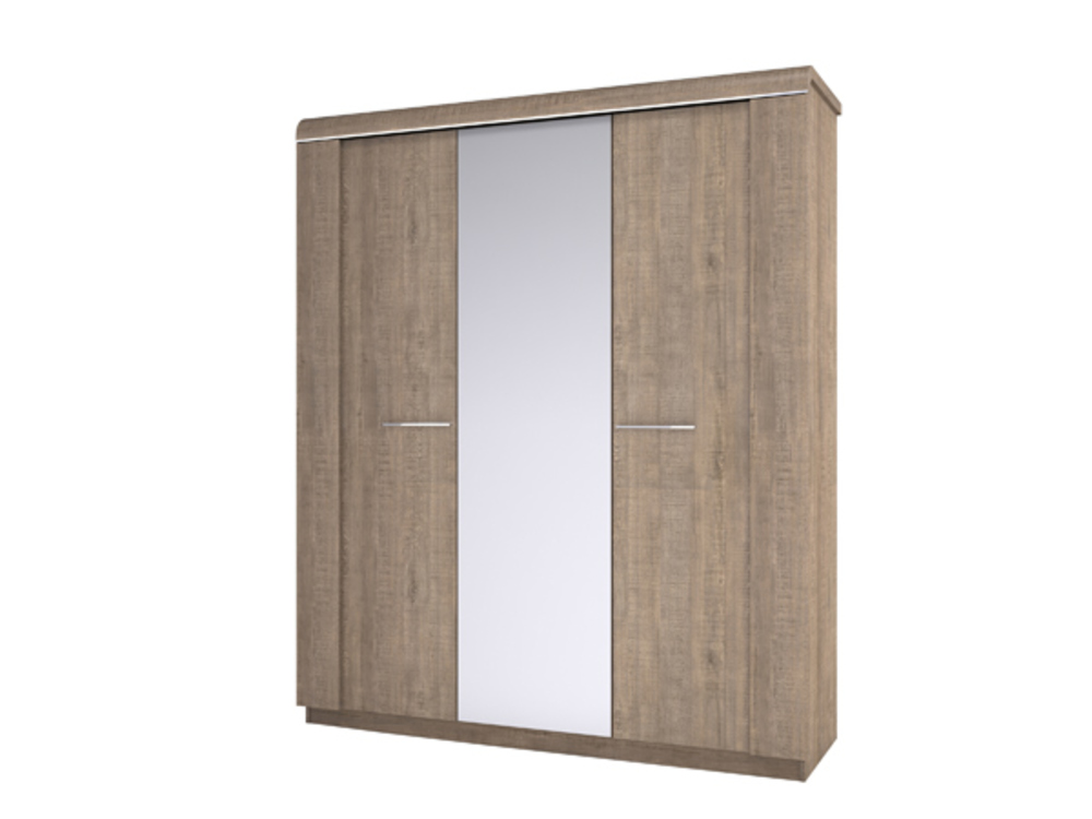 Armoire wagram chene ambr for Porte coulissante scrigno 60