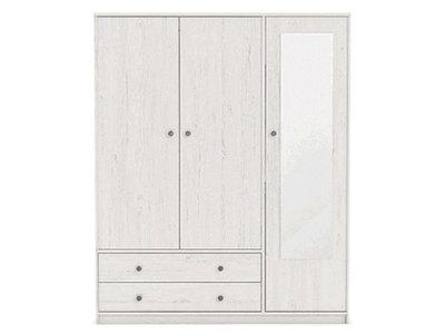 Armoire 3 portes 2 tiroirs Copenhague