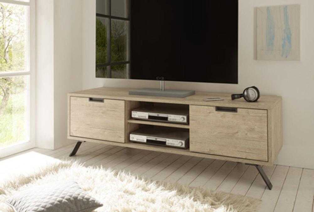a1f856ae0f591 Meuble Tv Palma Goa Chêne Blond