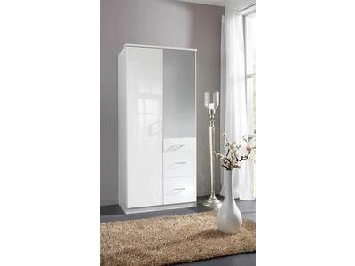 Meubles armoires pour la chambre prix discount - Armoire penderie portes coulissantes miroir ...