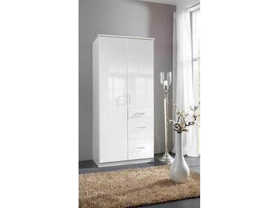 Armoire 2 portes 3 tiroirs