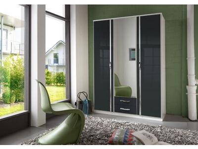 Armoire 3 portes 2 tiroirs
