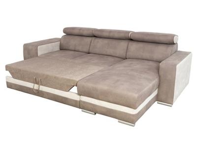 Canapé d'angle reversible et convertible Miami
