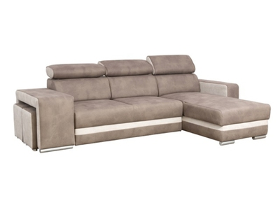 Canapé d'angle reversible et convertible