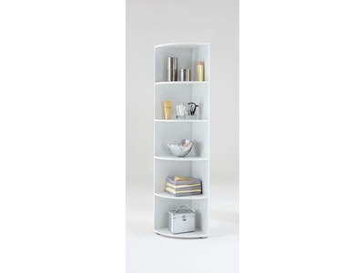 etagere d 39 angle ecki 2 blanc. Black Bedroom Furniture Sets. Home Design Ideas