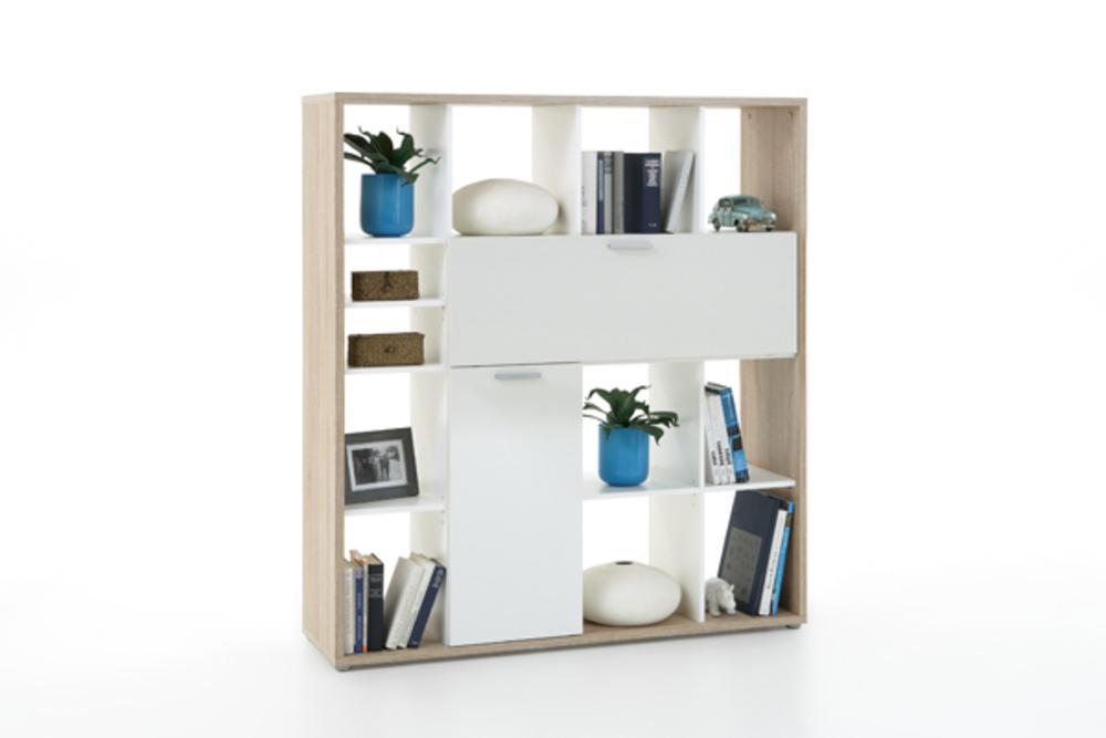 Etagere bureau place chene blanc for Place bureau catalogue