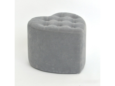 Pouf coeur Glam chic