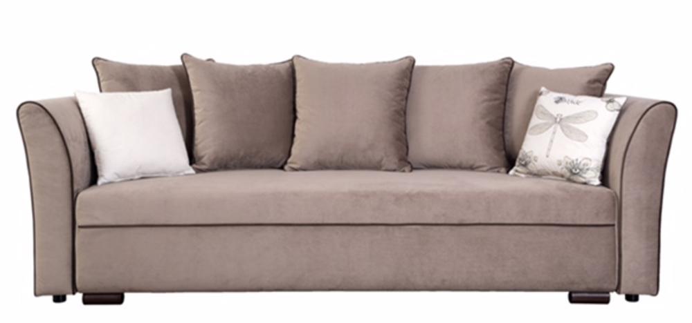 canape lit san remo taupe. Black Bedroom Furniture Sets. Home Design Ideas