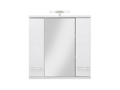 Element haut avec miroir Bari
