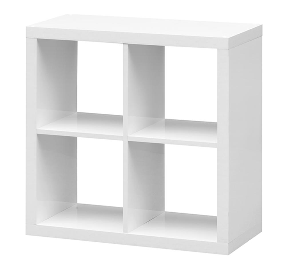 etag re 4 cubes emilie blanc. Black Bedroom Furniture Sets. Home Design Ideas