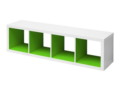 EtagÈre 4 cubes horizontale Emilie
