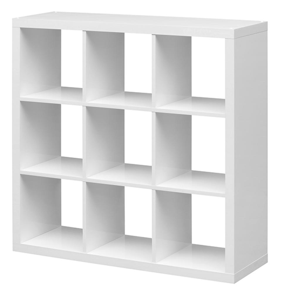 EtagÈre 9 cubes Emilie Blanc