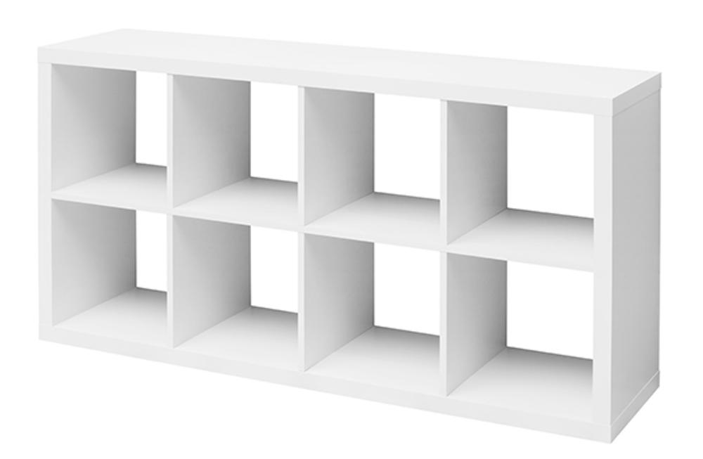 EtagÈre 8 cubes Emilie Blanc