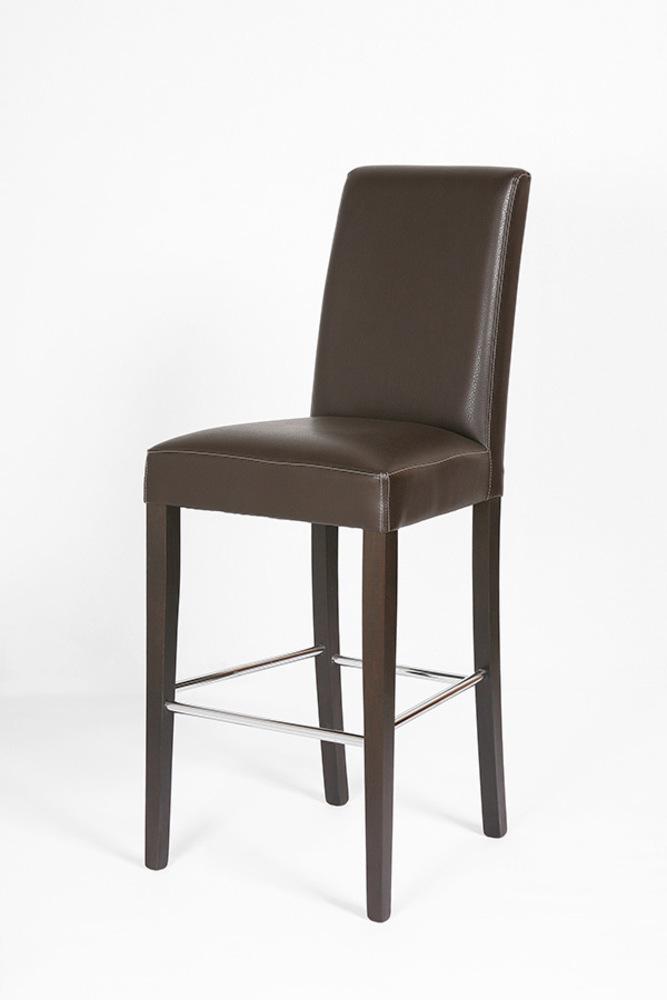 tabouret de bar orchidee chocolat. Black Bedroom Furniture Sets. Home Design Ideas