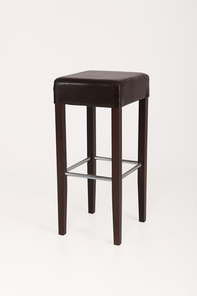 tabouret de bar jana chocolat. Black Bedroom Furniture Sets. Home Design Ideas