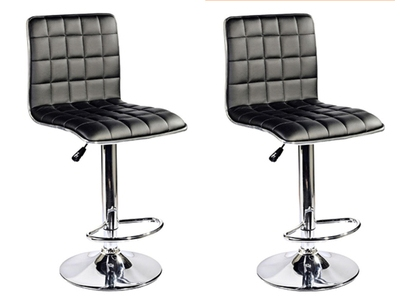 Lot de 2 tabourets de bar Soudelor