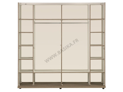 Armoire 2 portes coulissantes Irena