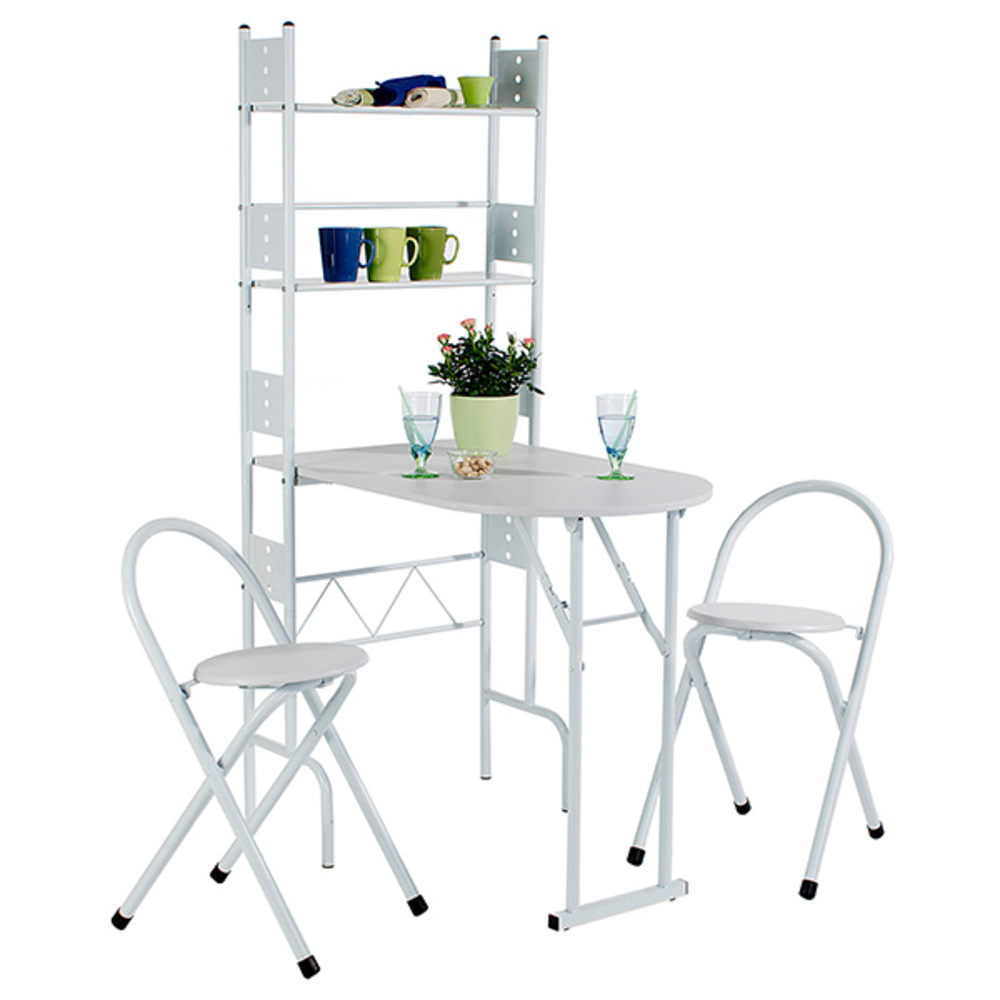 Table pliante chaises set table 2 chaises pliantes - Table de cuisine pliable ...