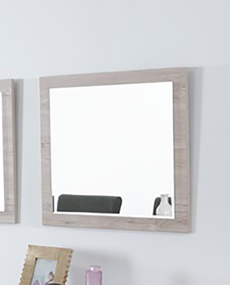 Miroir arena chene blanchi for Miroir sejour