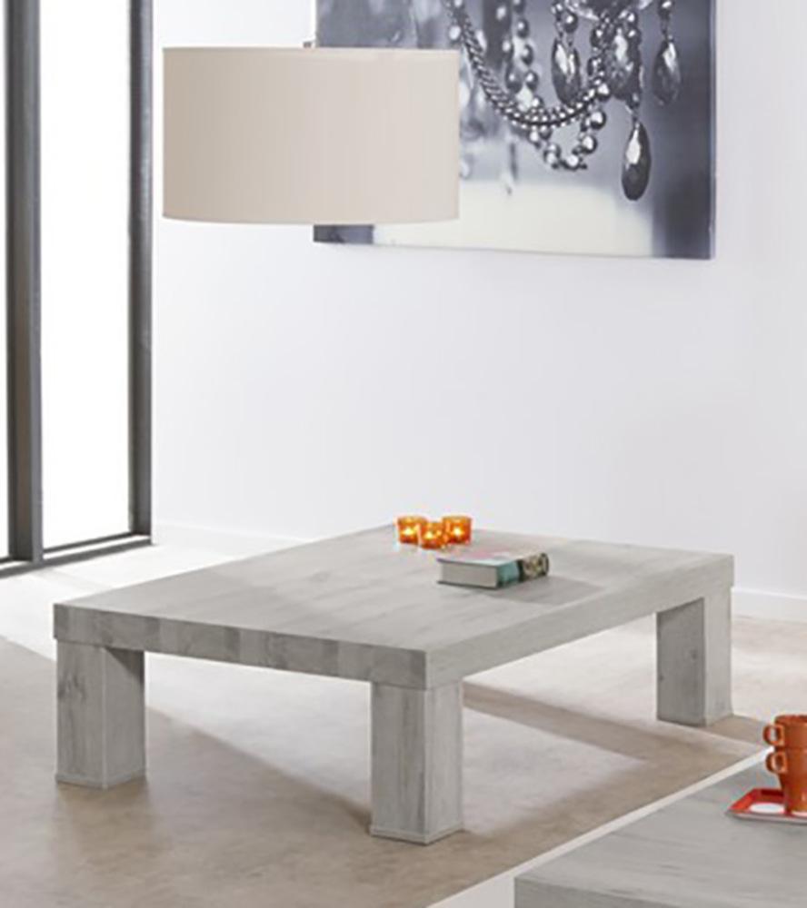 Table Basse Bristol Chene Blanchi Gris  # Salon Blanc Et Chene Blanchi