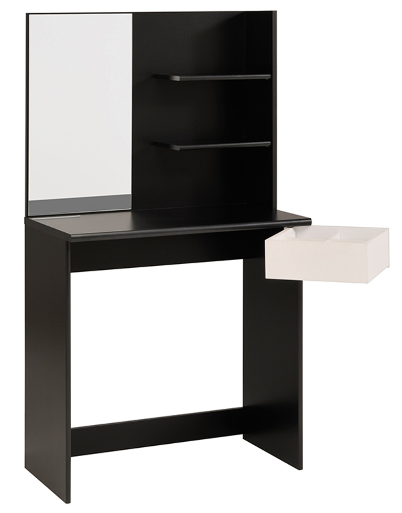 coiffeuse pimpante noir. Black Bedroom Furniture Sets. Home Design Ideas